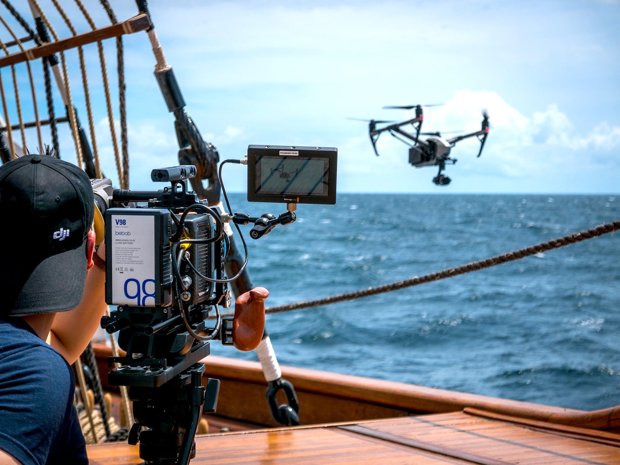 Urlaubsfeeling pur... Unsere V98 Akkus mit DJI in der Karibik