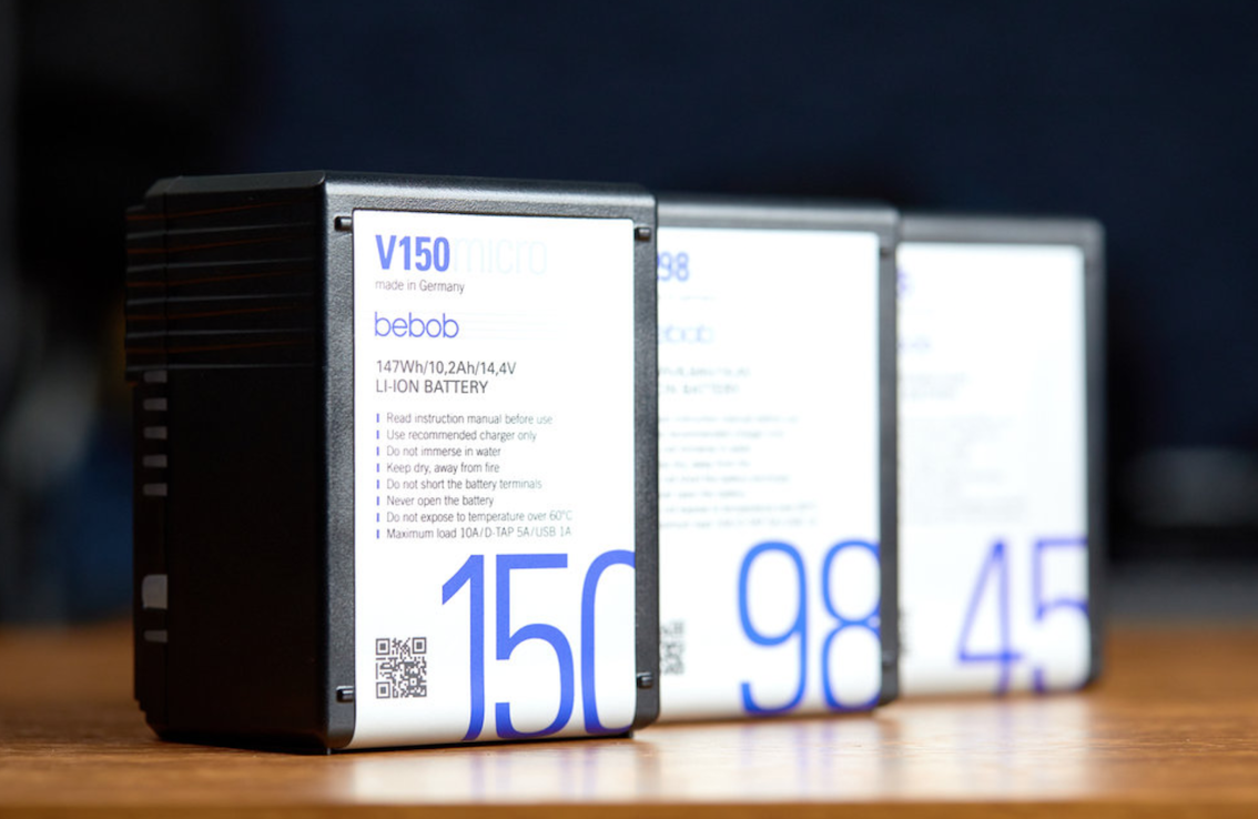 Our new Vmicro Batteries - now on YouTube!