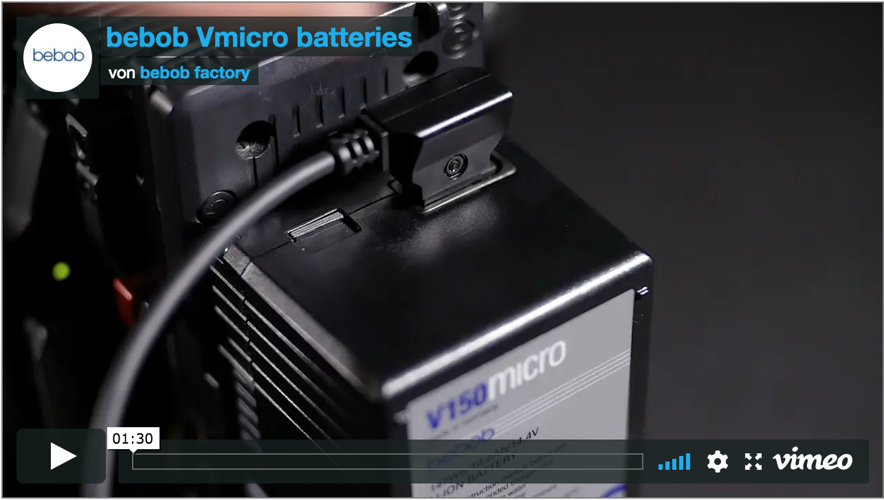 Video: bebob Vmicro batteries - first look