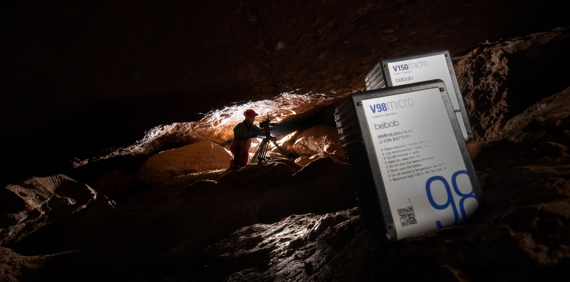 Reliable power for extreme settings: bebob Vmicros support National Geographic's Thai Cave Rescue docu
