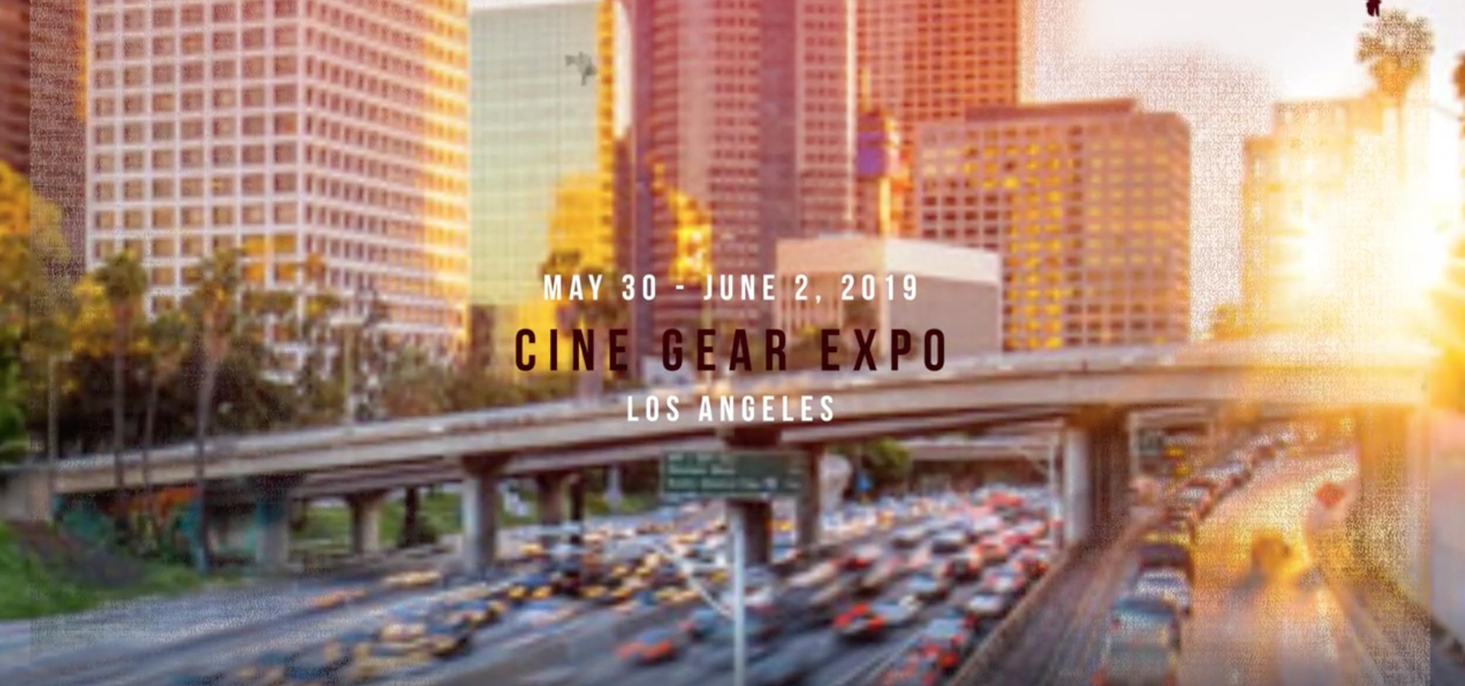 bebob auf der Cine Gear in Los Angeles