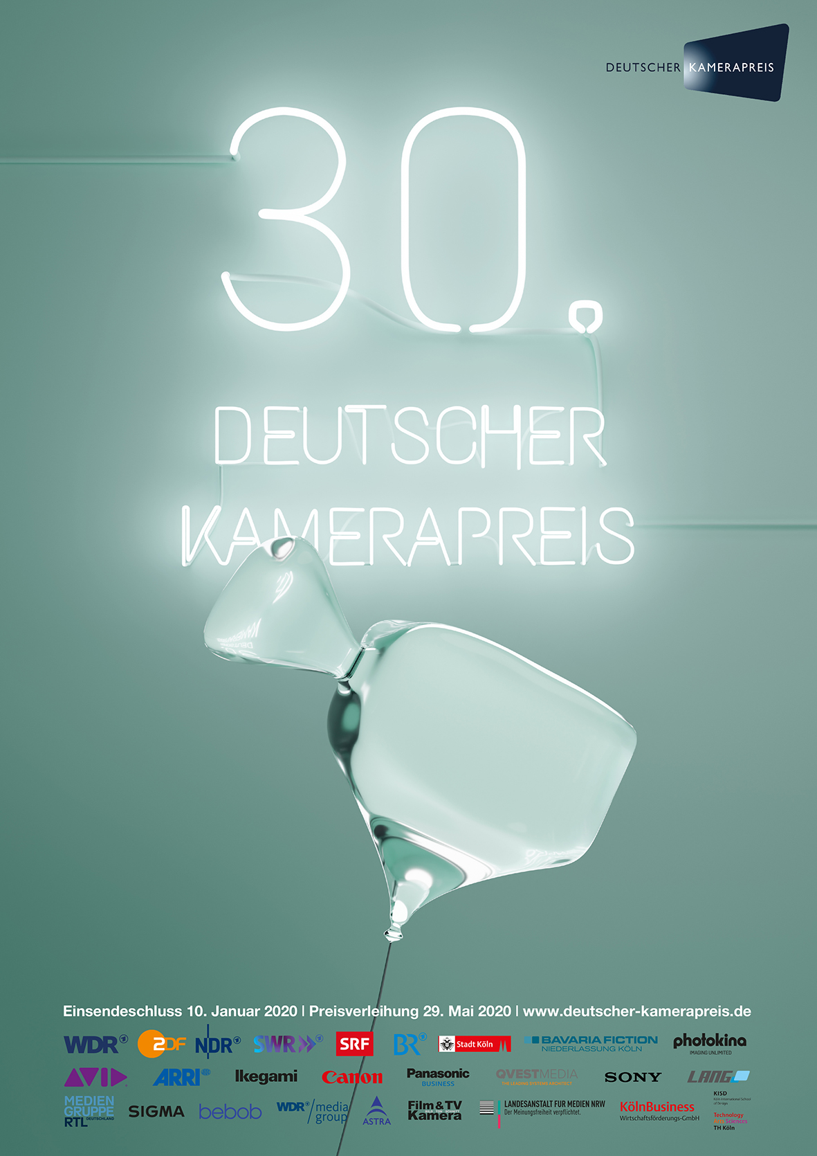bebob ist Sponsor des Deutschen Kamerapreises