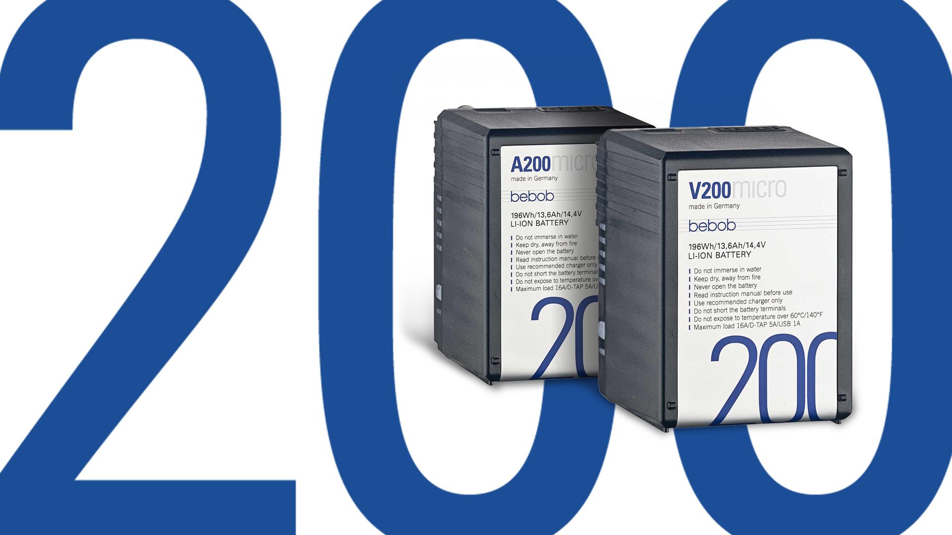 Kleine Kraftpakete: Ultra-kompakte 200 Wh Akkus von bebob