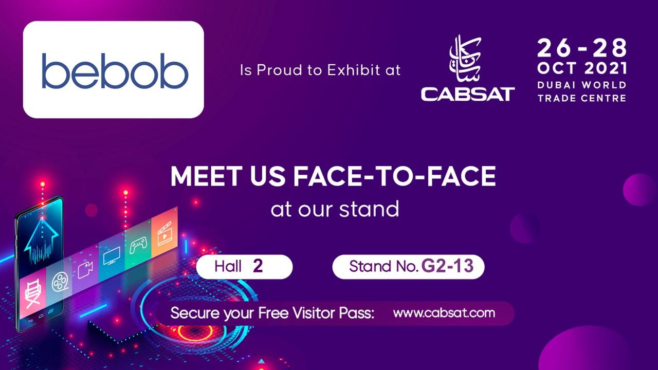 Wir freuen uns auf die CabSat 2021!